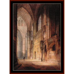 Bishop Islips Chapel - Turner cross stitch pattern by Cross Stitch Collectibles | Crafting | Cross-Stitch | Wall Hangings