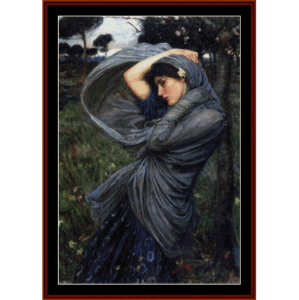 Boreas - Waterhouse cross stitch pattern by Cross Stitch Collectibles | Crafting | Cross-Stitch | Wall Hangings