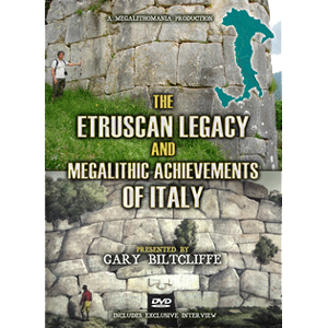 gary biltcliffe - italian megalithic achievements - megalithomania 2013