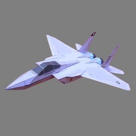 Paper F-15 US Air Force | Crafting | Paper Crafting | Paper Models