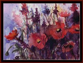 Summer Bouquet - Suzy Pal cross stitch pattern by Cross Stitch Collectibles   Crafting   Cross-Stitch   Wall Hangings