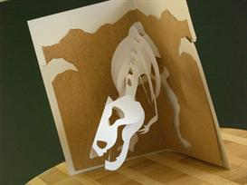 T-Rex Card - EasyCutPopup | eBooks | Arts and Crafts