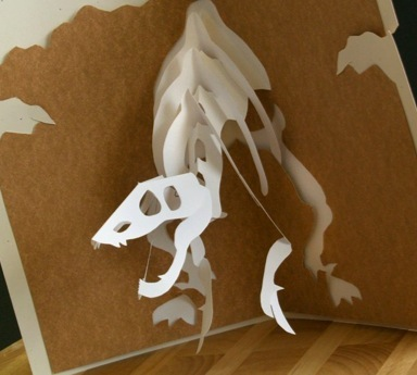 Third Additional product image for - Jurassic Cards - EasyCutPopup