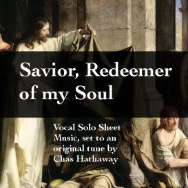 savior redeemer of my soul sheet music
