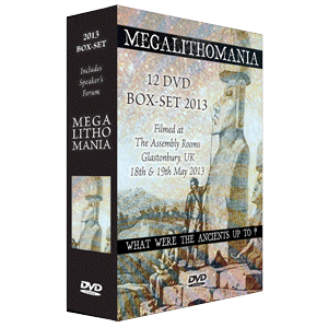 2013 megalithomania conference + interviews box-set mp3s
