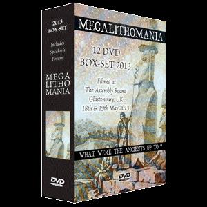 2013 megalithomania conference box-set + interviews mp4s