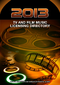 2013 tv and film music licensing directory