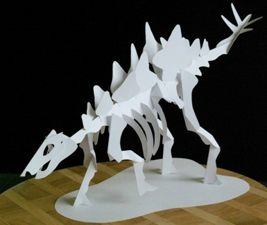 Third Additional product image for - Jurassic Skeleton Series - EasyCutPopup