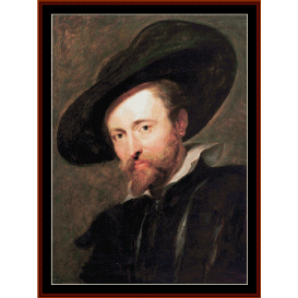 self portrait (rubens) cross stitch pattern by cross stitch collectibles