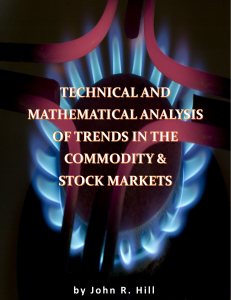 Technical & Mathematical Analysis of Trends in the Commodity & Stock Markets | eBooks | Technical