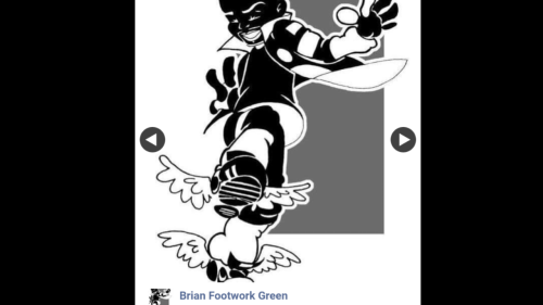 """First Additional product image for - Footwork Intermediate/Advanced Series 2- with Brian """"Footwork """" Green"""