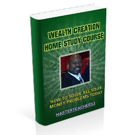 full payment wealth creation home study course