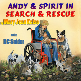 andy and spirit in search and rescue