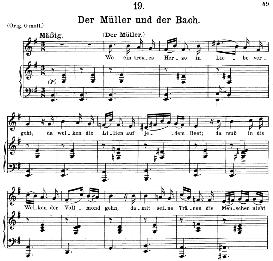 Der Müller und der Bach, D.795-19, Medium Voice in E Minor, F. Schubert (Die Schöne Mullerin), C.F. Peters | eBooks | Sheet Music