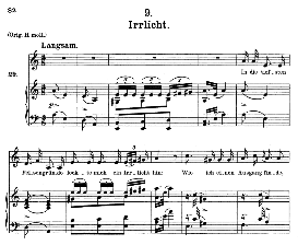 irrlicht d.911-9, medium voice in a minor, f. schubert (winterreise), c.f. peters