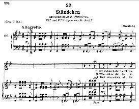 Ständchen D.889, Hark, hark, the lark in B Flat Major, F. Schubert, C.F. Peters | eBooks | Sheet Music
