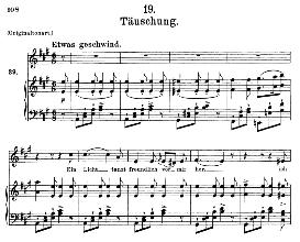 täuschung d.911-19, medium voice in a major, f. schubert (winterreise), c.f. peters