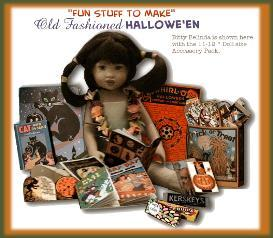 make halloween fun stuff for your shirley temple doll or 10-12