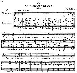 An schwager Chronos D.369, Medium Voice in D Minor, F. Schubert., C.F. Peters | eBooks | Sheet Music