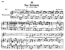 das heimweh d.851, medium voice in g minor, f. schubert, c.f. peters