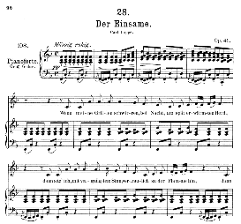 Der Einsame D.800, Medium Voice in F Major, F. Schubert, C.F. Peters | eBooks | Sheet Music