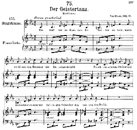 Der Geistertanz D.116, Medium Voice in C Minor, F. Schubert, C.F. Peters | eBooks | Sheet Music