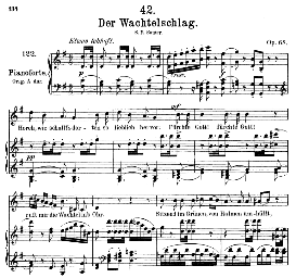 Der Wachtelschlag D.742, Medium Voice in G Major, F. Schubert, C.F. Peters | eBooks | Sheet Music