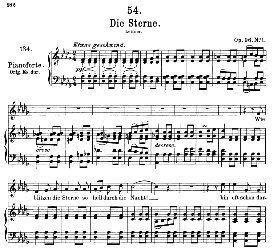 Die Sterne D.939, Medium Voice in D Flat Major, F. Schubert, C.F. Peters | eBooks | Sheet Music
