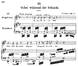 Gebet wâhrend der Schlacht D.171, Medium Voice in G Major, F. Schubert, C.F. Peters | eBooks | Sheet Music