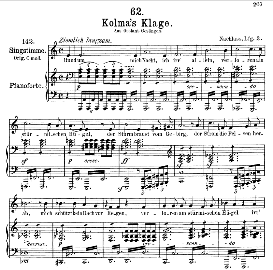 Kolma's Klage D.217, Medium Voice in A Minor, F. Schubert, C.F. Peters | eBooks | Sheet Music
