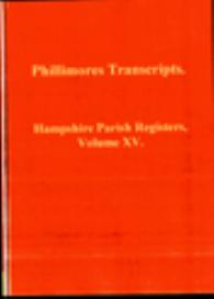 hampshire parish registers, volume xv