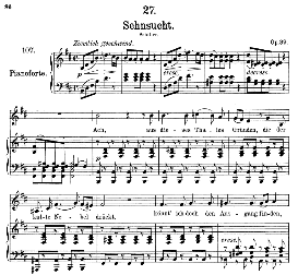 Sehnsucht D.636 Aus dieses Tales Gründen, Medium Voice in B Minor, F. Schubert, C.F. Peters | eBooks | Sheet Music