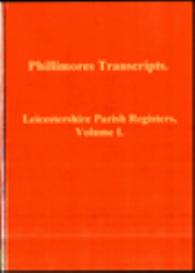 leicestershire parish registers_1