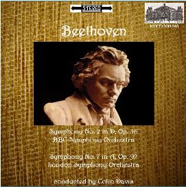 beethoven: symphonies nos. 2 & 7 - bbc so/lso/colin davis