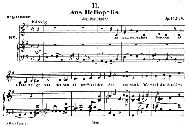 aus heliopolis d.753, medium voice in e major, f. schubert (pet.)