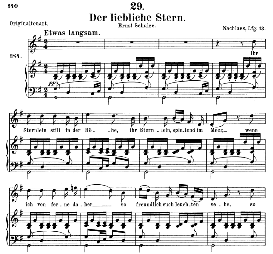 Der liebliche Stern D.861, Medium Voice in G Major, F. Schubert, C.F. Peters | eBooks | Sheet Music