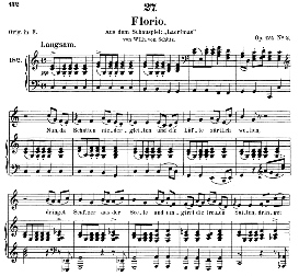 Florio D.857-1, Medium Voice in C Major, F. Schubert (Pet.) | eBooks | Sheet Music