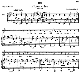 Pilgerweise D.789, Medium Voice in E Minor, F. Schubert (Pet.) | eBooks | Sheet Music