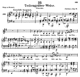 Totengräberweise D.869, Medium Voice in E Minor, Schubert (Pet.) | eBooks | Sheet Music