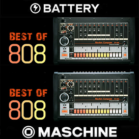best of 808 maschine battery kits