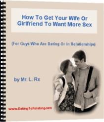 how to get your wife or girlfriend to want more sex