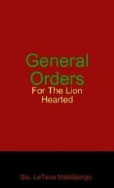 general orders for the lion hearted
