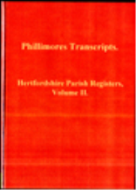 hertfordshire parish registers, volume ii.