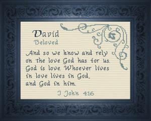 name blessings -  david 4