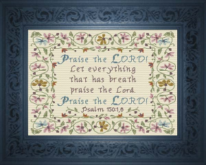 praise the lord - psalm 150:1,6