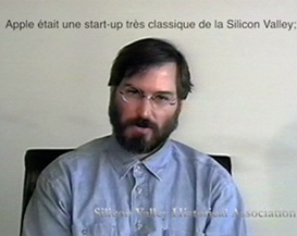 steve jobs 1994 unedited interview [french subtitles]