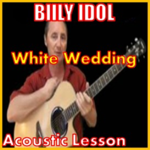 Learn to play White Wedding by Billy Idol | Movies and Videos | Educational