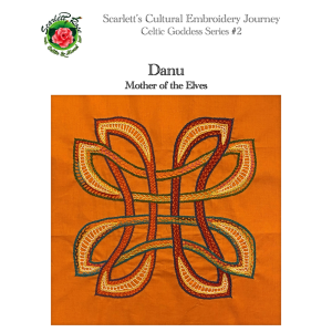 Danu - Celtic Hand Embroidery Pattern | Crafting | Embroidery