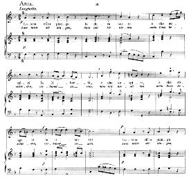 Lascia ch'io pianga, High Voice in F Major, G.F.Haendel. Caecilia, Ed. André (1894) Vol. I, 906-a | eBooks | Sheet Music