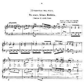 ritornerai fra poco, high voice in g minor, a. hasse. caecilia, ed. andré (1894) vol. i, 906-a